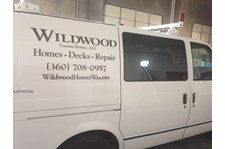 - Vehicle Graphics - Cut Vinyl - Wildwood Custom Homes - Anacortes, WA